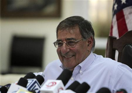 U.S. Defense Secretary Leon Panetta speaks during a news conference in Kabul June 7, 2012. REUTERS/Mohammad Ismail