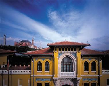 Four Seasons Hotel at Sultanahmet – Istanbul, Turkey: The ochre exterior is just the first of many signifiers that the Four Seasons Hotel at Sultanahmet is a unique experience. The building, a former Turkish prison, is not only an astounding neoclassical structure, but it is also conveniently located between the Hagia Sofia and the Blue Mosque, two of Istanbul's greatest treasures. REUTERS/VirtualTourist.com