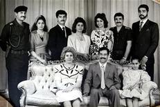 Семья бывшего иракского диктатора Саддама Хусейна (время и место съемки неизвестны). Племянник бывшего лидера Ирака Саддама Хуссейна, которого Ирак разыскивает из-за членства в террористической организации, попросил убежища в Австрии, заявив, что опасается преследований, сообщило австрийское МВД в пятницу. REUTERS/Stringer