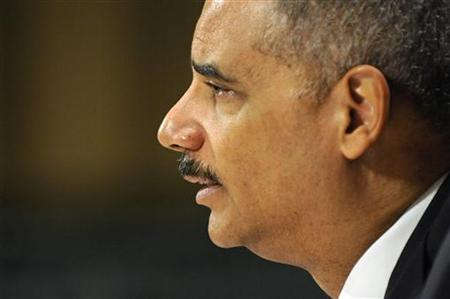 U.S. Attorney General Eric Holder testifies before the Senate Judiciary Committee on Capitol Hill in Washington June 12, 2012. REUTERS/Jonathan Ernst