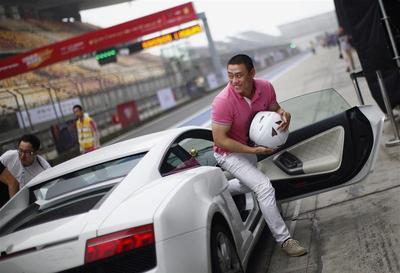 Shanghai's super car show