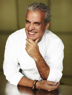 Eric Ripert, executive chef of Le Bernardin, poses for a photo in New York October 2010. REUTERS/Nigel Parry