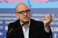 "Director Steven Soderbergh speaks during a news conference to promote the movie ""Haywire"" at the 62nd Berlinale International Film Festival in Berlin February 15, 2012. REUTERS/Morris Mac Matzen"