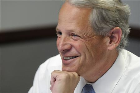 U.S. Representative Steve Israel (D-NY), chairman of the Democratic Congressional Campaign Committee, smiles during the Reuters Washington Summit in Washington June 26, 2012. REUTERS/Jonathan Ernst