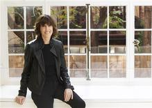 Nora Ephron poses for a portrait in her home in New York in this November 3, 2010, file photo. REUTERS/Lucas Jackson/Files