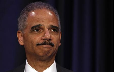 U.S. Attorney General Eric Holder delivers remarks to the Boys and Girls Club of America in Washington June 26, 2012. REUTERS/Kevin Lamarque