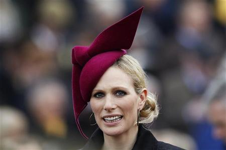 Britain's Zara Phillips, granddaughter of Queen Elizabeth, attends the Cheltenham Festival horse racing meet in Gloucestershire, western England March 15, 2012. REUTERS/Stefan Wermuth