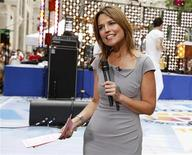 Savannah Guthrie co-hosts NBC's 'Today' show in New York, June 29, 2012. Ann Curry announced on Thursday she was leaving as co-host of the 'Today' show after just a year in the high-profile job and following a recent slump in the ratings of the early morning program. REUTERS/Brendan McDermid