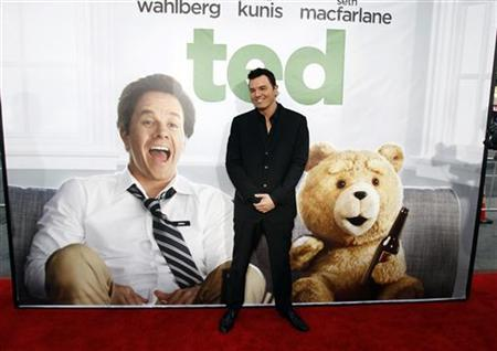 Writer, director and cast member Seth MacFarlane poses at the premiere of ''Ted'' at the Grauman's Chinese theatre in Hollywood, California June 21, 2012. The movie opens in the U.S. on June 29. REUTERS/Mario Anzuoni