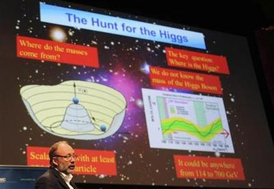 ''It's a boson:'' Higgs quest bears new particle