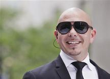 Singer Pitbull performs on NBC's 'Today' show in New York, May 25, 2012. REUTERS/Brendan McDermid