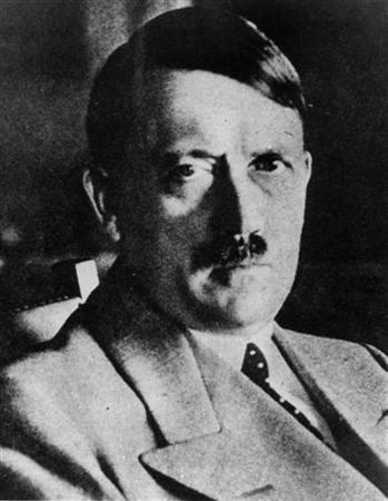 This picture shows an undated file picture of the German ''Fuehrer'' Adolf Hitler. The National Archive recently released the picture. WR/FMS