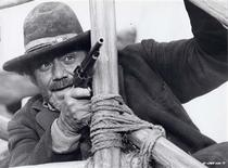 "Actor Ernest Borgnine is shown in a scene from his 1971 film ""Hannie Caulder"" in this undated publicity photograph. REUTERS/Paramount Pictures/Handout"