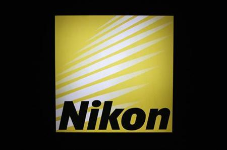 A logo of Nikon is pictured at a trade show for Japan's manufacturing industry in Tokyo June 20, 2012. REUTERS/Yuriko Nakao
