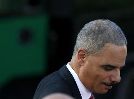 U.S. Attorney General Eric Holder attends a picnic for Members of Congress, hosted by U.S. President Barack Obama, on the South Lawn of the White House in Washington June 27, 2012. REUTERS/Larry Downing