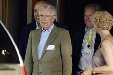 Italy's Prime Minister Mario Monti attends the Allen & Co Media Conference in Sun Valley, Idaho July 12, 2012. REUTERS/Jim Urquhart