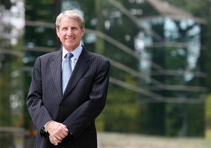 Russ Wasendorf, chairman and chief executive officer of PFGBest, poses in Cedar Falls, Iowa, in this September 8, 2009 photo courtesy of the Waterloo Courier. REUTERS/Brandon Pollock/Waterloo Courier