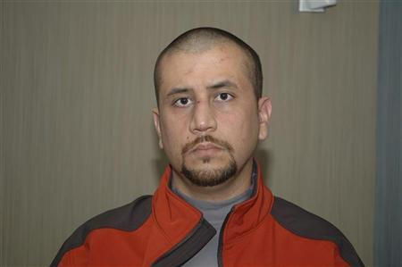 Undated handout photo shows George Zimmerman shortly after he killed Trayvon Martin, in Sanford, Florida. REUTERS/George Zimmerman Legal Case/Handout