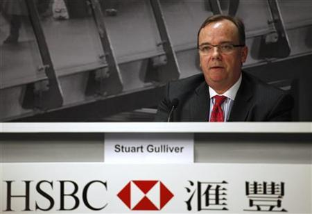 HSBC Group Chief Executive Stuart Gulliver attends a news conference in Hong Kong August 2, 2011. REUTERS/Tyrone Siu/Files