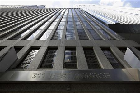 The building housing the PFGBest headquarters is seen in Chicago July 11, 2012. REUTERS/John Gress