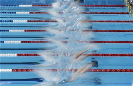 In London 39 S Pools Fast Waters Run Deep Reuters