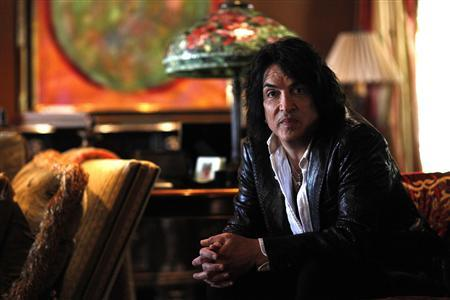 Paul Stanley, lead vocalist of rock band Kiss, poses for a portrait at his home in Beverly Hills, California May 15, 2012. REUTERS/Mario Anzuoni