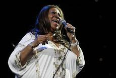Aretha Franklin performs at Radio City Music Hall in New York February 17, 2012. REUTERS/Shannon Stapleton