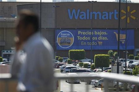 A general view of a Wal-Mart store in Mexico City, April 24, 2012. REUTERS/Edgard Garrido