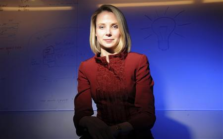 Marissa Mayer poses at Google's Mountain View, California headquarters, in this February 24, 2009 file photo. REUTERS/Noah Berger/Files