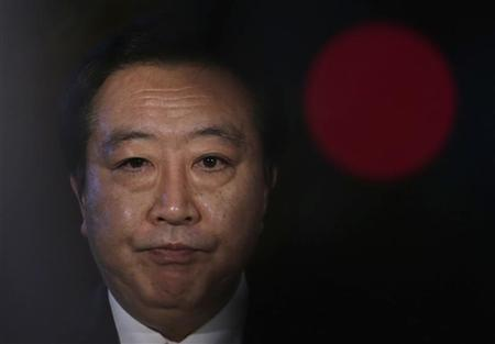 Japan's Prime Minister Yoshihiko Noda speaks to the media at his official residence in Tokyo July 2, 2012. REUTERS/Toru Hanai