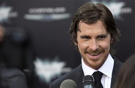 Cast member Christian Bale attends the world premiere of ''The Dark Knight Rises'' in New York July 16, 2012. REUTERS/Andrew Kelly