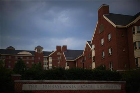 A view of buildings on the campus of Pennsylvania State University in State College, Pennsylvania July 11, 2012. REUTERS/Eric Thayer