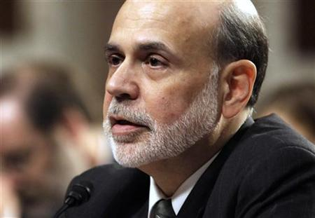 U.S. Federal Reserve Chairman Ben Bernanke testifies before the Senate Banking, Housing and Urban Affairs Committee hearing on Capitol Hill in Washington July 17, 2012. REUTERS/Yuri Gripas