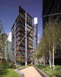 A photo illustration shows an exterior view of the NEO Bankside development in London in this image provided to Reuters by Native Land on July 18, 2012. REUTERS/Native Land/Handout