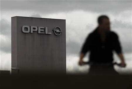 A factory building of German car manufacturer Opel is pictured at the headquarters in Ruesselsheim July 17, 2012. REUTERS/Alex Domanski