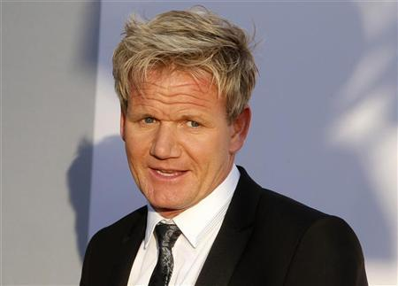 Chef Gordon Ramsay arrives at the BAFTA Brits to Watch event in Los Angeles, California July 9, 2011. REUTERS/Fred Prouser