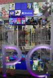The Windows 8 operating system is displayed at the Microsoft booth during the 2012 Computex exhibition at the TWTC Nangang exhibition hall in Taipei June 6, 2012. Computex, the world's second largest show, runs from June 5 to 9. REUTERS/Yi-ting Chung (TAIWAN - Tags: SCIENCE TECHNOLOGY BUSINESS)