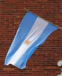 <p>L'économie argentine s'est contractée en mai en raison de la baisse marquée de l'activité industrielle, un repli sans précédent depuis juillet 2009. /Photo d'archives/REUTERS/Enrique Marcarian</p>
