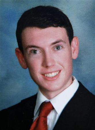 A 2006 Westview High School year book picture of James Eagan Holmes is seen in Rancho Penasquitos, California July 20, 2012. REUTERS/Handout