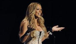 A cantora Mariah Carey durante apresentação do BET Awards 2012, em Los Angeles, nos Estados Unidos, no começo do mês. 01/07/2012 REUTERS/Phil McCarten
