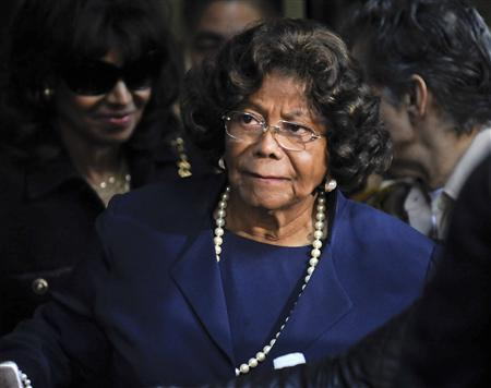 Michael Jackson's mother Katherine Jackson leaves the sentencing hearing of Dr. Conrad Murray, who was convicted of involuntary manslaughter in the death of her son pop star Michael Jackson, in Los Angeles, California in this November 29, 2011 file photo. Jermaine Jackson, brother of late pop singer Michael Jackson, said on July 22, 2012 that his mother, Katherine, was not missing as other relatives reported to authorities this weekend, but resting with family in Arizona on ''doctor's advice.'' REUTERS/Gus Ruelas/Files