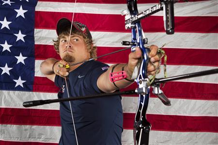 Archer Brady Ellison poses for a portrait during the 2012 U.S. Olympic Team Media Summit in Dallas, Texas in this May 13, 2012 file photo. REUTERS/Lucas Jackson