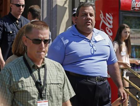 Governor of New Jersey Chris Christie attends the Allen & Co Media Conference in Sun Valley, Idaho July 12, 2012. Reuters/Jim Urquhart