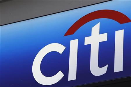 A Citibank sign on a bank branch in midtown Manhattan, New York, November 17, 2010. REUTERS/Mike Segar
