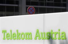 <p>Imagen de archivo de un letrero de Telekom Austria ubicado en la casa matriz de la firma en Viena, ago 17 2011. El regulador austriaco de la competencia aprobó la propuesta de la mexicana América Móvil para ampliar su participación en Telekom Austria, y dijo el viernes que no ve ningún motivo para bloquear una operación de compra de acciones. REUTERS/Heinz-Peter Bader</p>