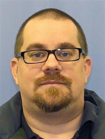 Kevin Cleeves, 36, of Waynesboro, Pennsylvania is shown in this handout photo released by Pennsylvania State Police Department July 28, 2012. REUTERS/Pennsylvania State Police Dept/Handout