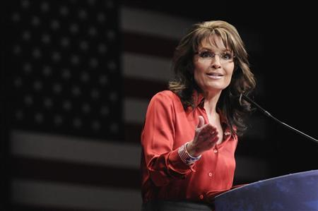 Former Alaska Governor Sarah Palin speaks to the American Conservative Union's annual Conservative Political Action Conference (CPAC) in Washington February 11, 2012. REUTERS/Jonathan Ernst