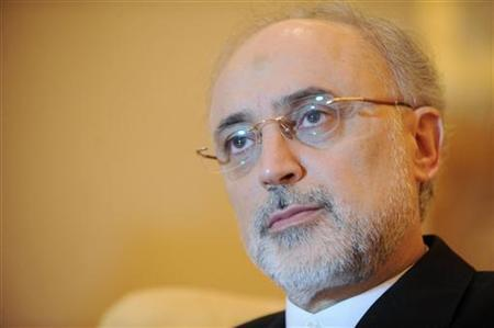 Iranian Foreign Minister Ali Akbar Salehi is seen during an interview with Reuters in Abu Dhabi July 9, 2012. REUTERS/Ben Job