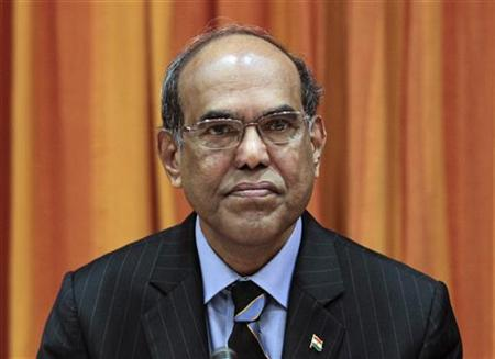 Reserve Bank of India (RBI) Governor Duvvuri Subbarao attends the monetary policy review meeting in Mumbai October 25, 2011. REUTERS/Danish Siddiqui/Files