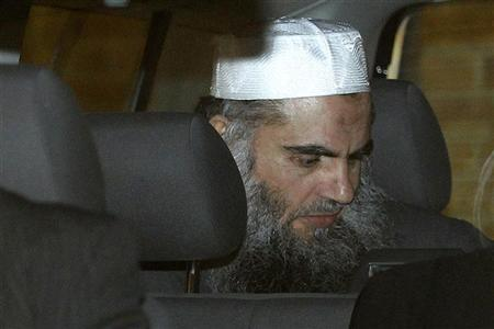 Jordanian preacher Abu Qatada leaves the Special Immigration Appeals Commission (SIAC) in central London April 17, 2012. REUTERS/Stefan Wermuth